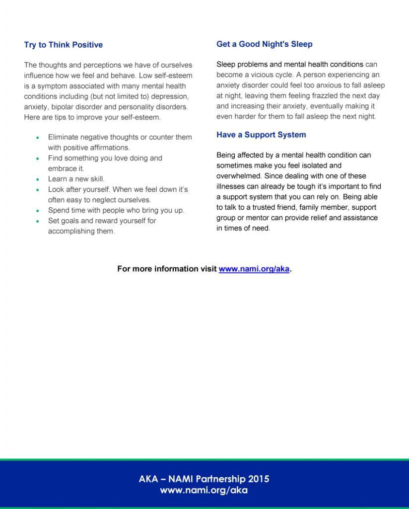 2017Mental HealthMaintainingaHealthyLifestyle2